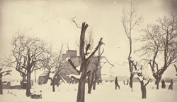 Winter scene near the R.E. Park [Sherpur Cantonment, Kabul]. 16